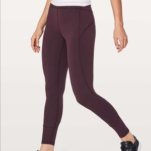 Lululemon In Movement 7/8 Tight Everlux High Rise